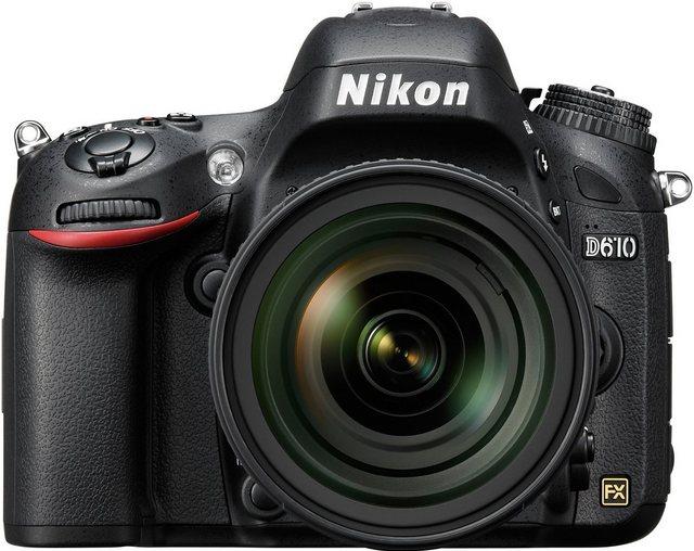 Spiegelreflexkameras - Nikon D610 Spiegelreflex Kamera, AF S 24 85 VR Zoom, 24,3 Megapixel, 8 cm (3,2 Zoll) Display  - Onlineshop OTTO