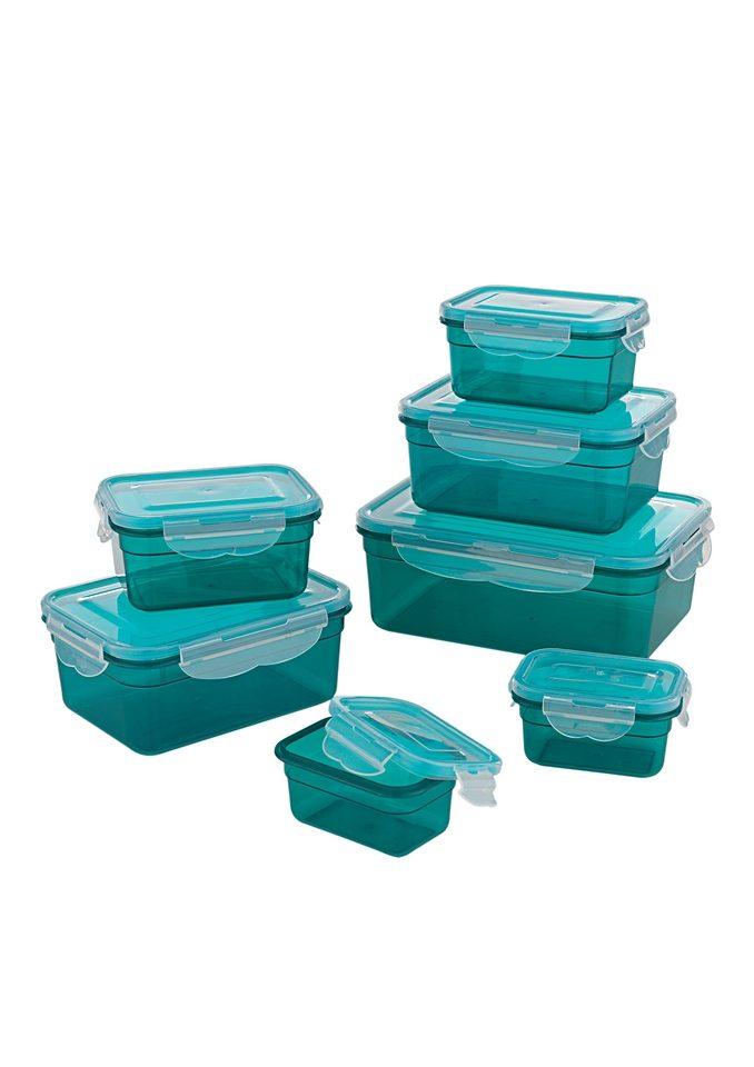 GOURMETmaxx Frischhaltedose, Kunststoff, (Set, 7 tlg)