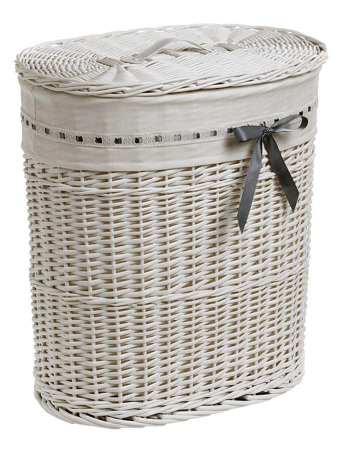 heine home Wäschesammler in weiß