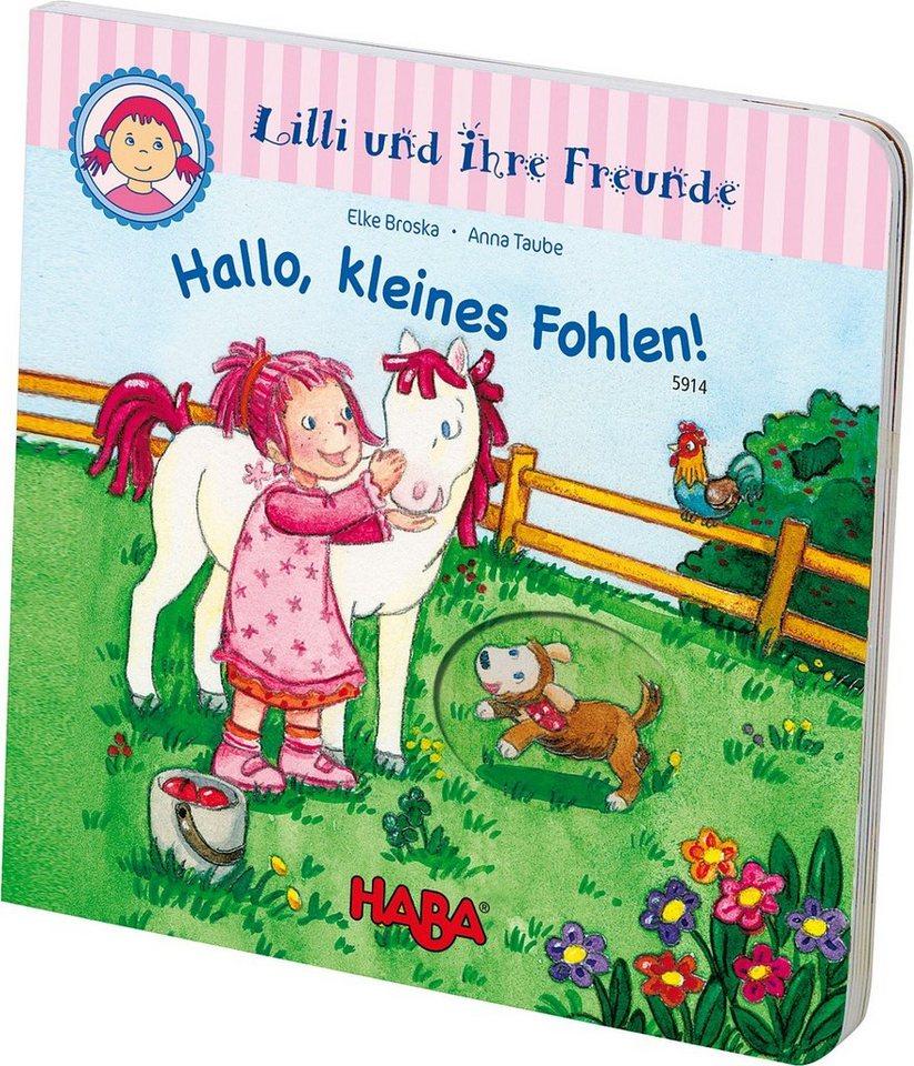 """Haba 5914 Gucklochbuch """" Hallo kleines Fohlen"""""""