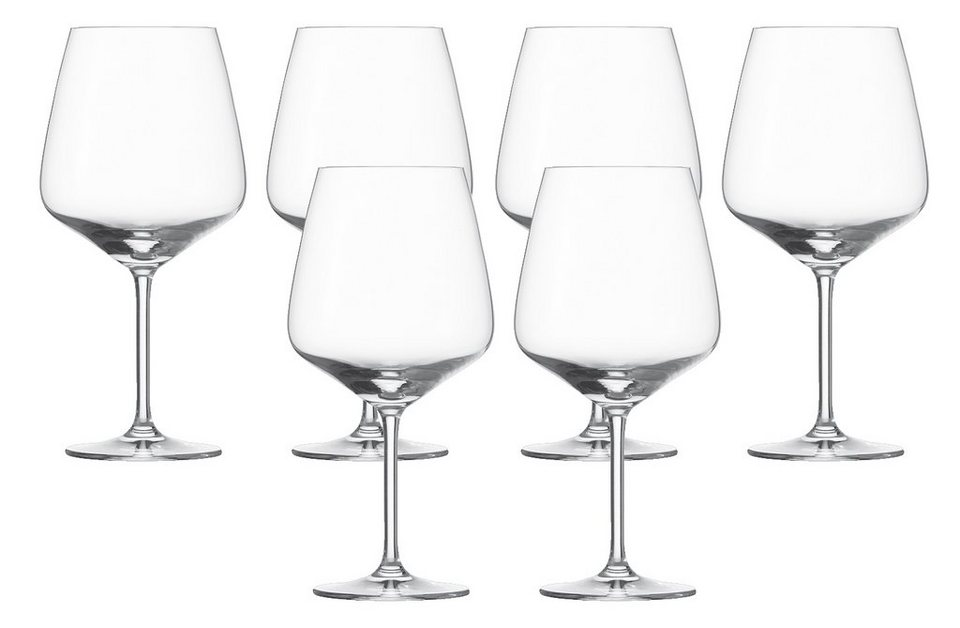 Schott Zwiesel Set: Burgunderglas 6er-Set »Taste« in Transparent