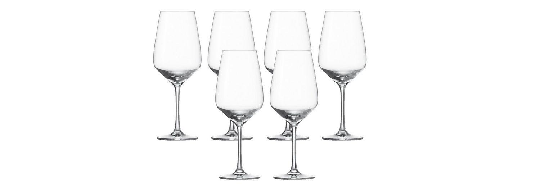 Schott Zwiesel Set: Rotweinglas 6er-Set »Taste«