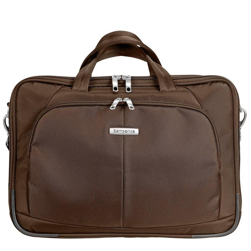 Samsonite Samsonite Intellio Bailhandle Laptoptasche 43,5 cm in dark brown