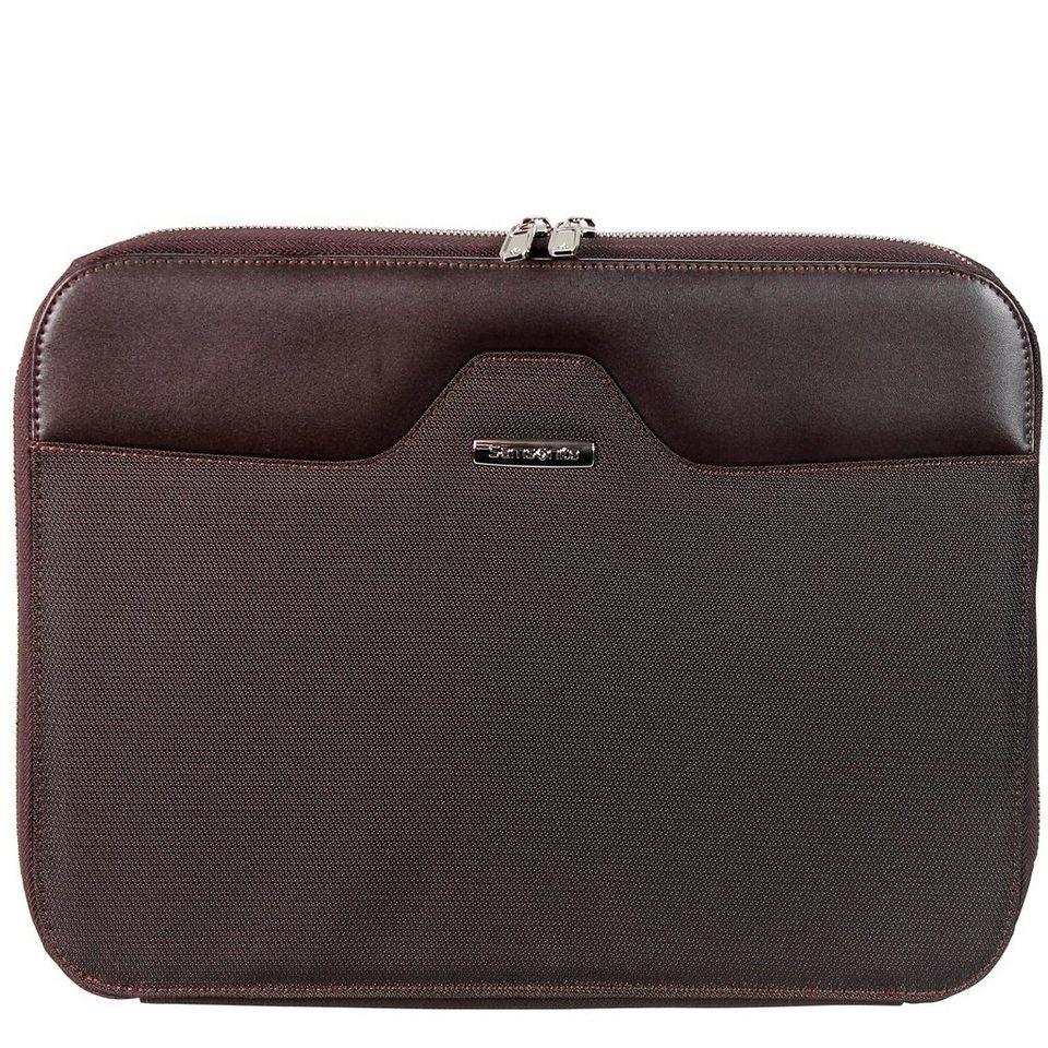 Samsonite Samsonite S-Thetic Portfolio Sleeve Laptophülle 37 cm in dark brown