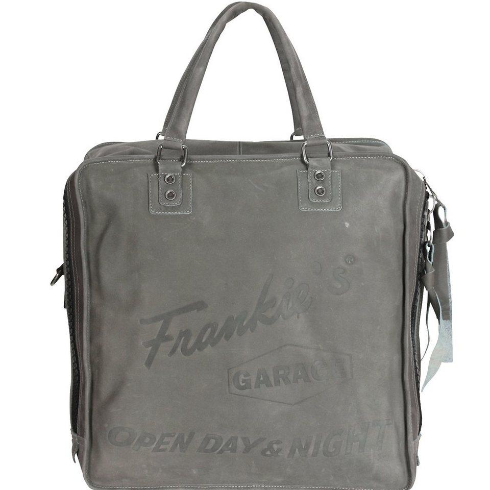 Frankies Garage Record Bag Henkeltasche 40 cm in grey