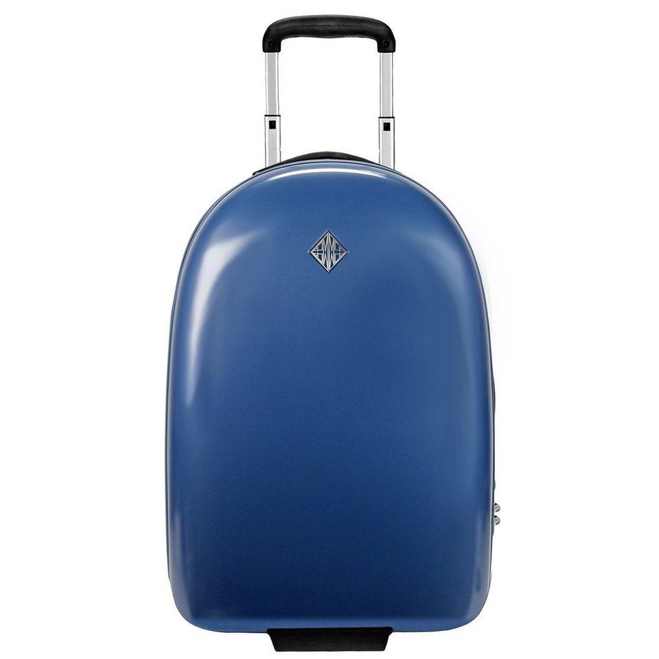 FPM Mouse Upright 2-Rollen Kabinen-Trolley 55 cm in infinity blue