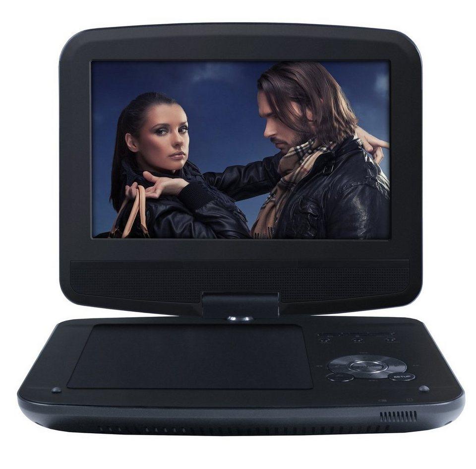 Odys Portabler DVD-Player »Furo - 23 cm (9 Zoll)« in Schwarz