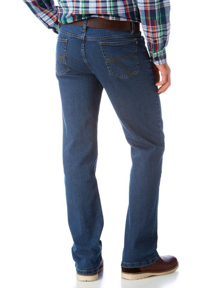 Arizona Stretch-Jeans »John« Straight Fit in blue-stone