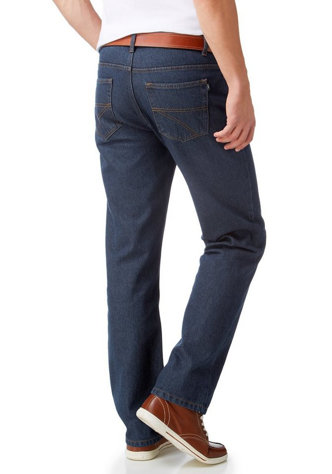 Arizona Bequeme Jeans »James« Regular Fit in dark-blue
