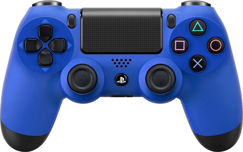 PS4 Dualshock 4 Wireless Controller, blau in blau