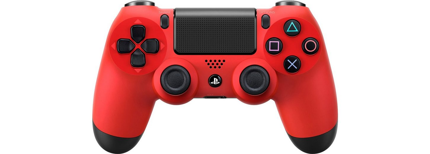 PS4 Dualshock4 Wireless Controller, rot