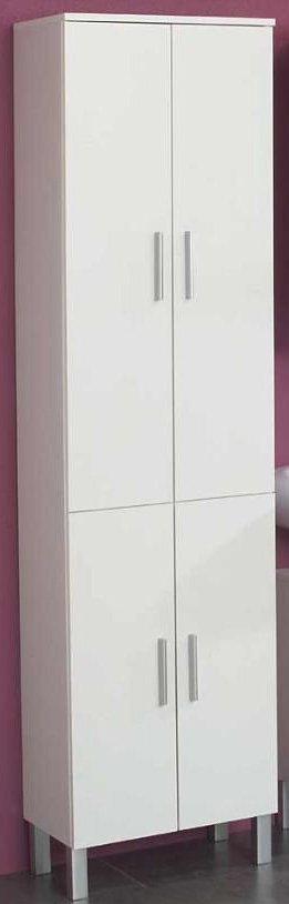 Kesper Hochschrank »Pisa« in weiß