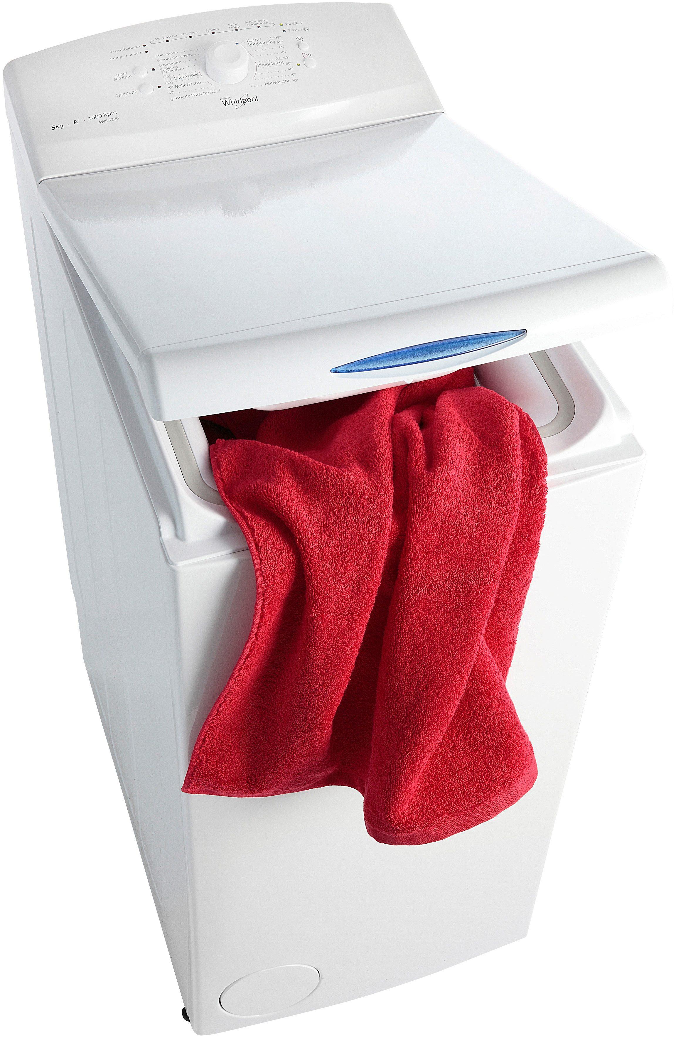 Whirlpool Waschmaschine Toplader AWE 5200, A+, 5 kg, 1000 U/Min