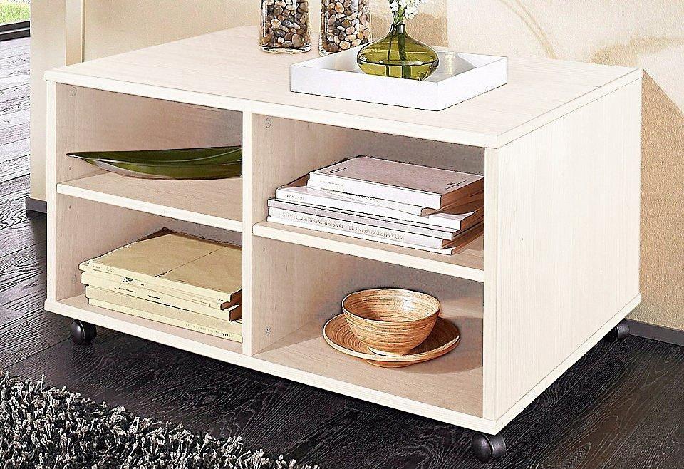 Lowboard, Home affaire, Breite 80 cm in weiß