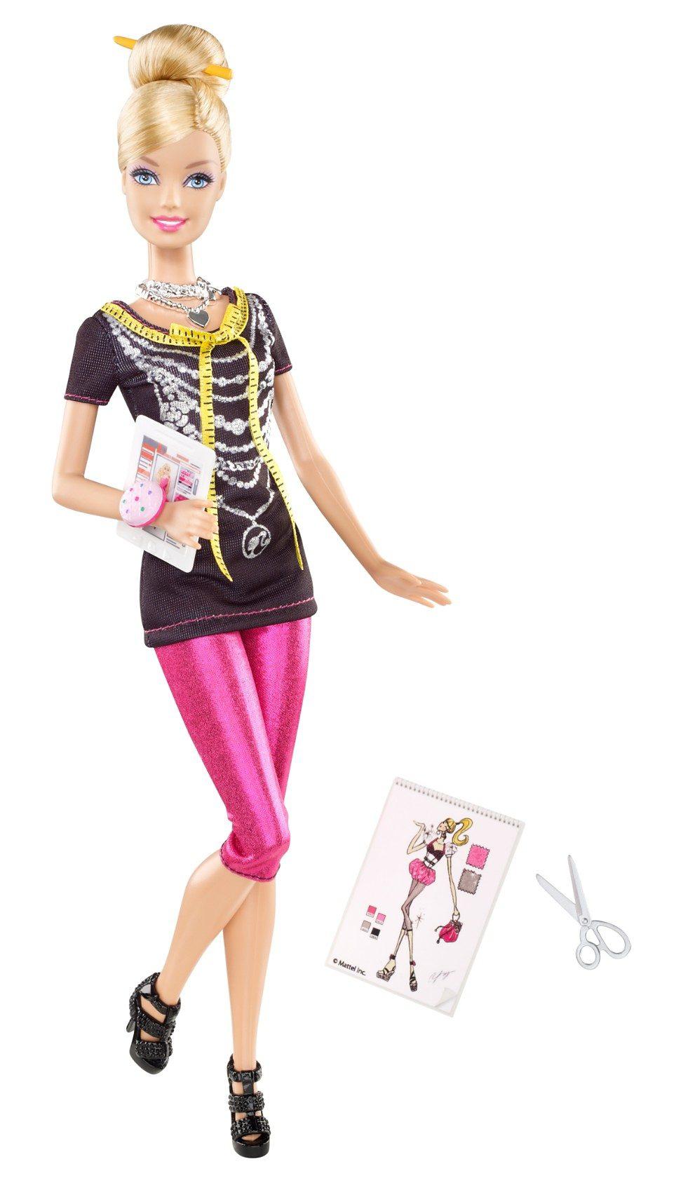 Mattel Barbie Ich wäre gern... Fashion Designer