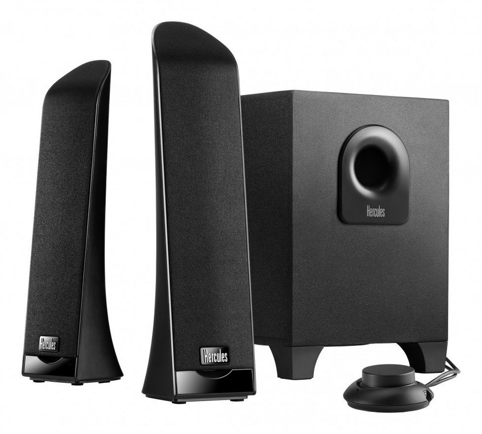 HERCULES Soundsystem XPS 2.1 Slim EU »(PC)«