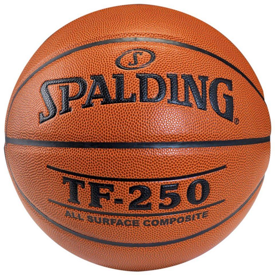 SPALDING TF250 Basketball in braun