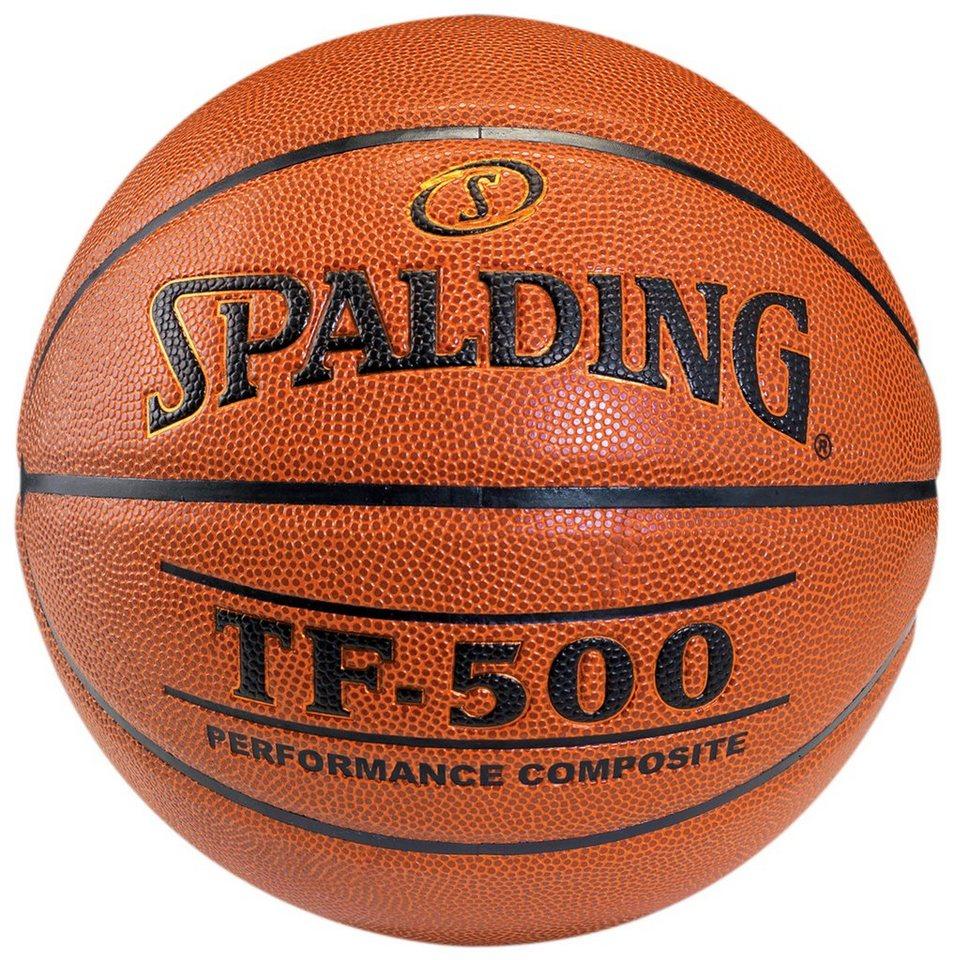 SPALDING TF500 Indoor Basketball in braun
