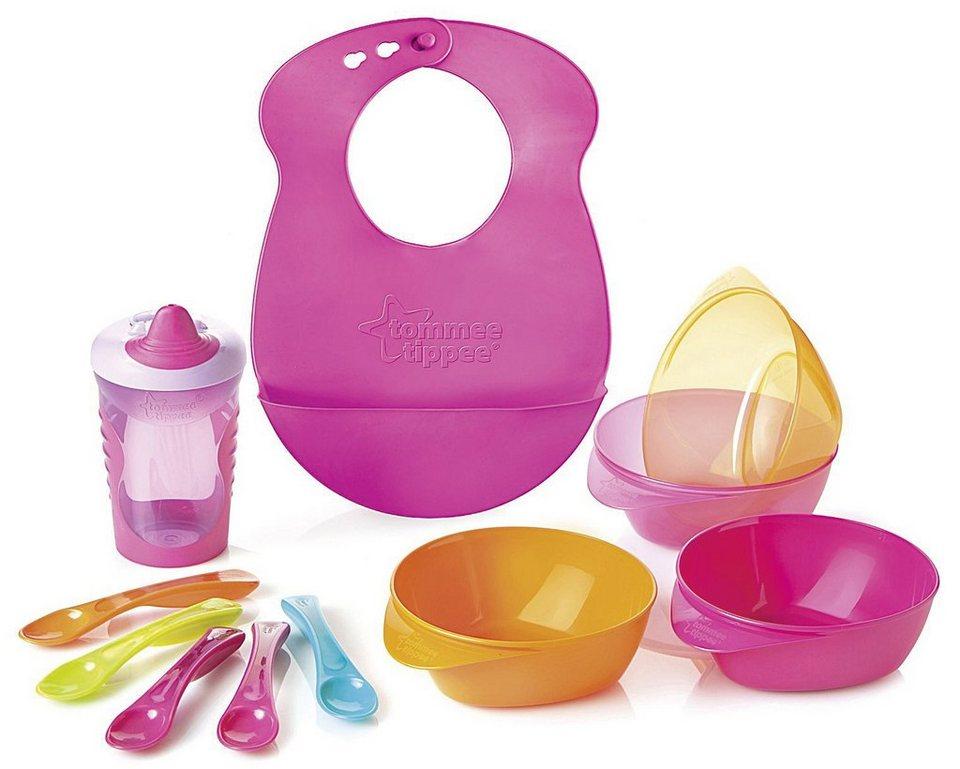 Rotho Babydesign Esslernset Explora, pink in pink