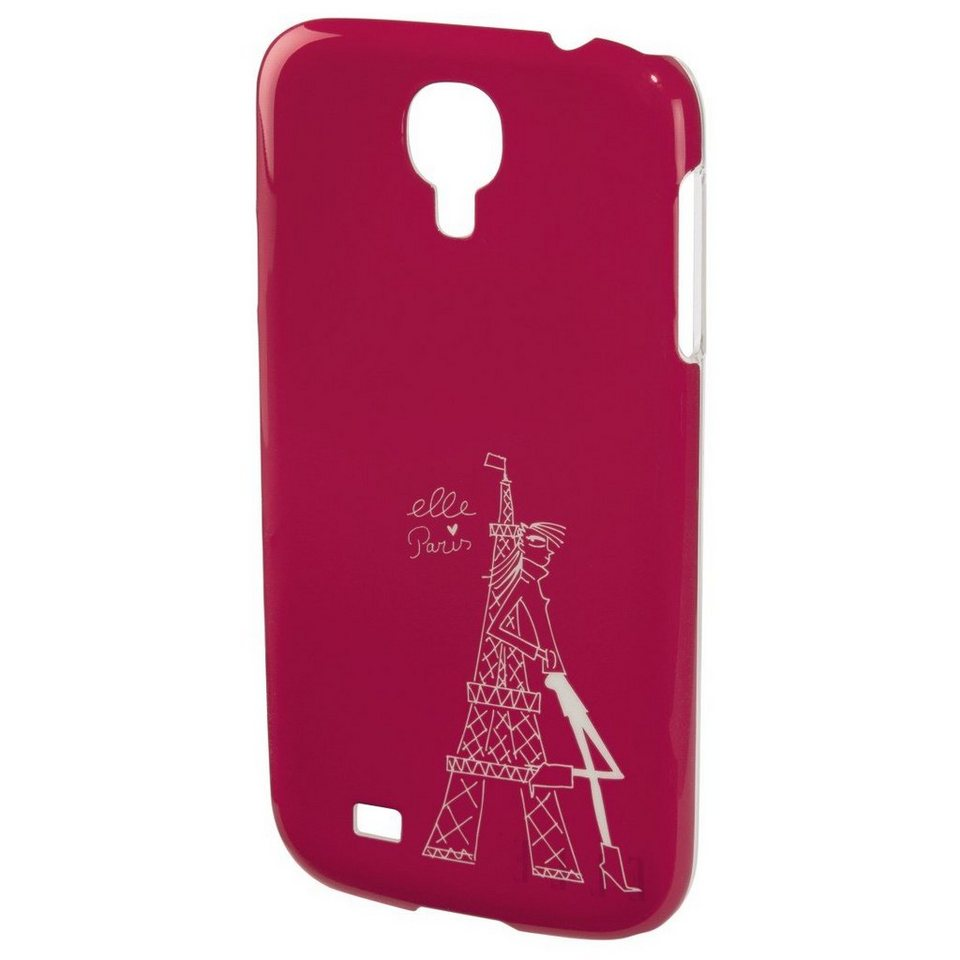 ELLE Handy-Cover Tour Eiffel für Samsung Galaxy S 4 mini, Pink in Pink