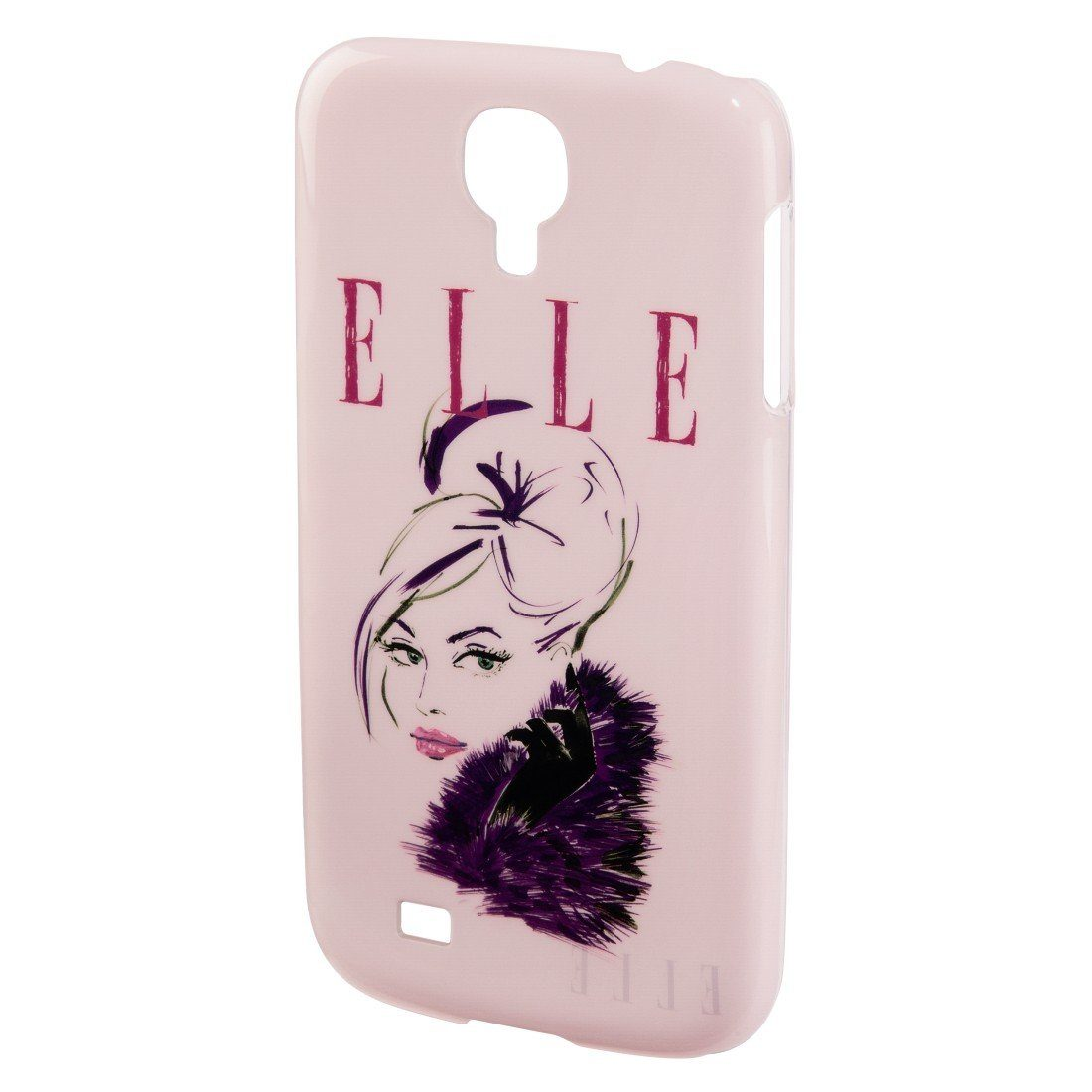 ELLE Handy-Cover Lady in Pink für Samsung Galaxy S 4, Rosa