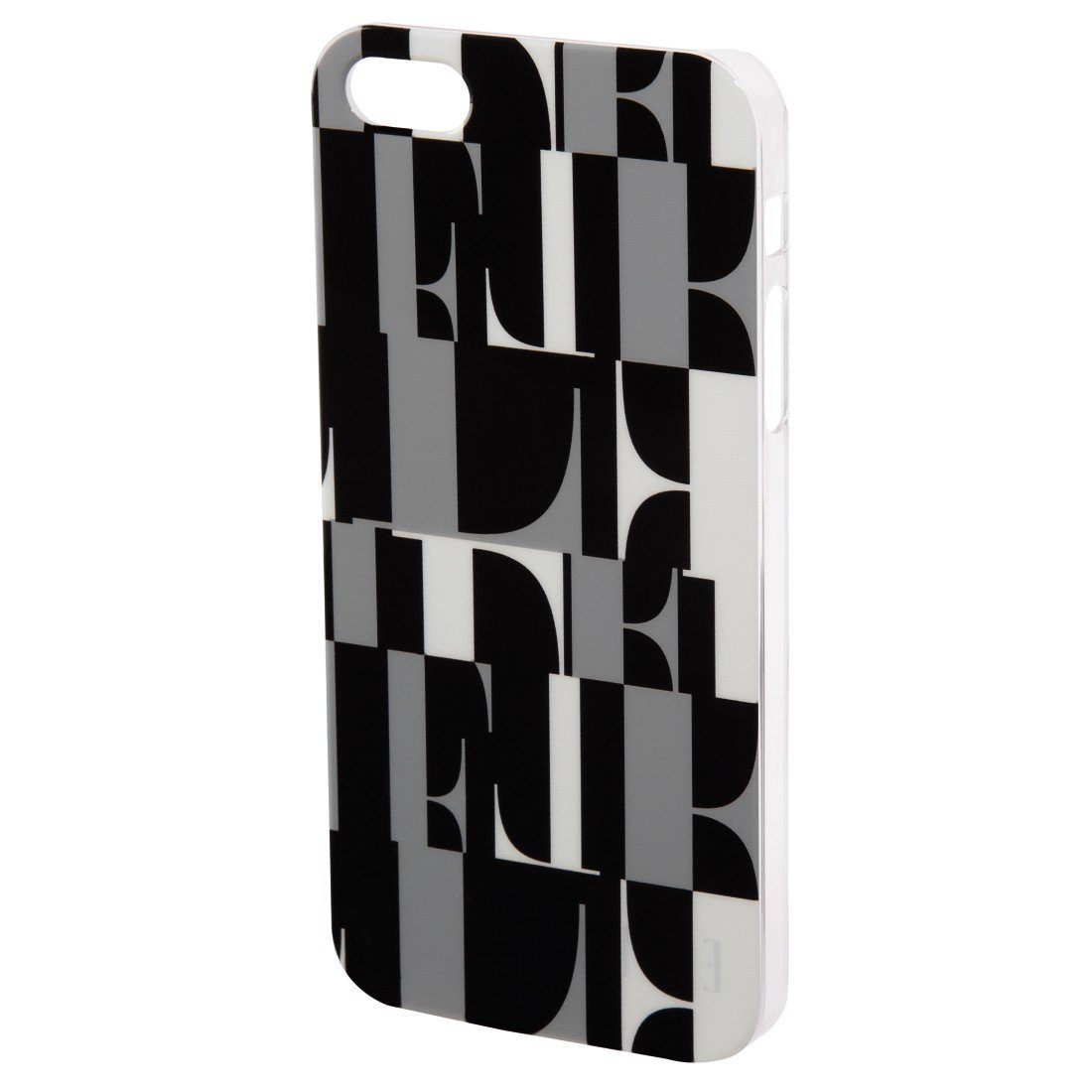 ELLE Handy-Cover ELLE original für Apple iPhone 5/5s/SE, Schwarz