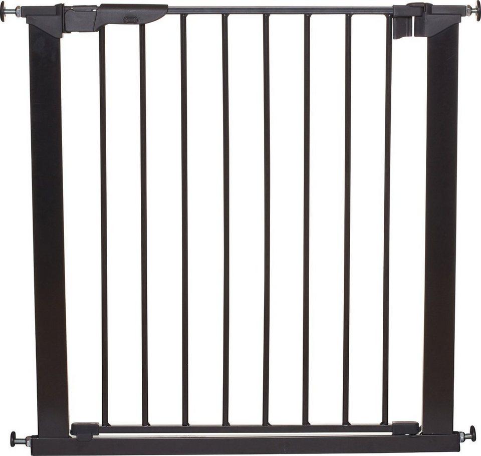 Baby Dan Türschutzgitter Premier, schwarz, 73,5 - 79,6 cm in schwarz