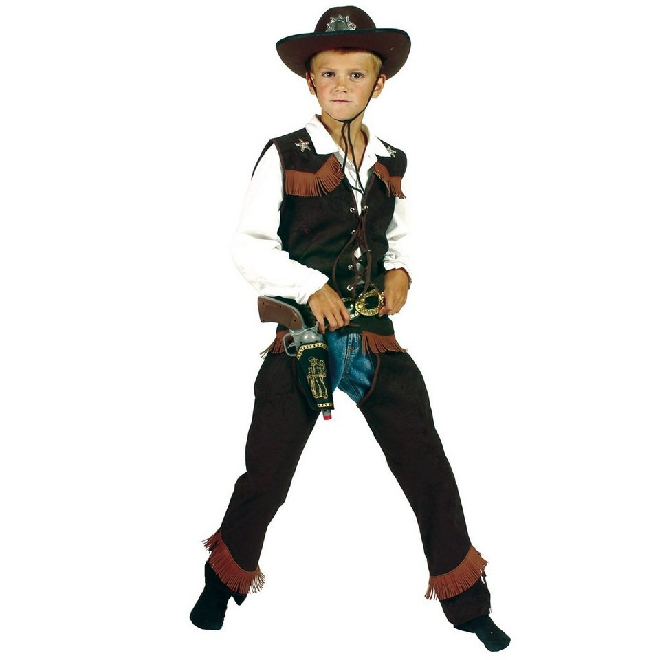 Funny Fashion Kostüm Cowboy in Kostüm