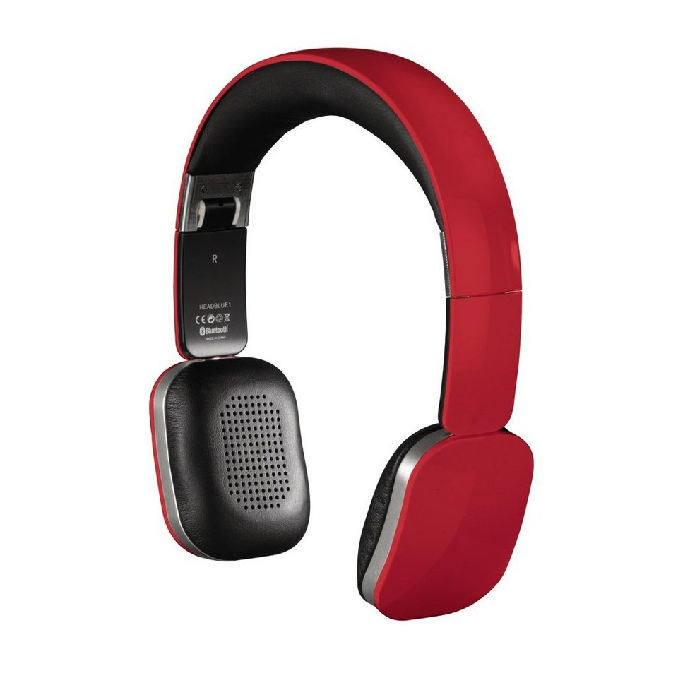 Hama Bluetooth-Stereo-Headset Speed, Rot in Rot