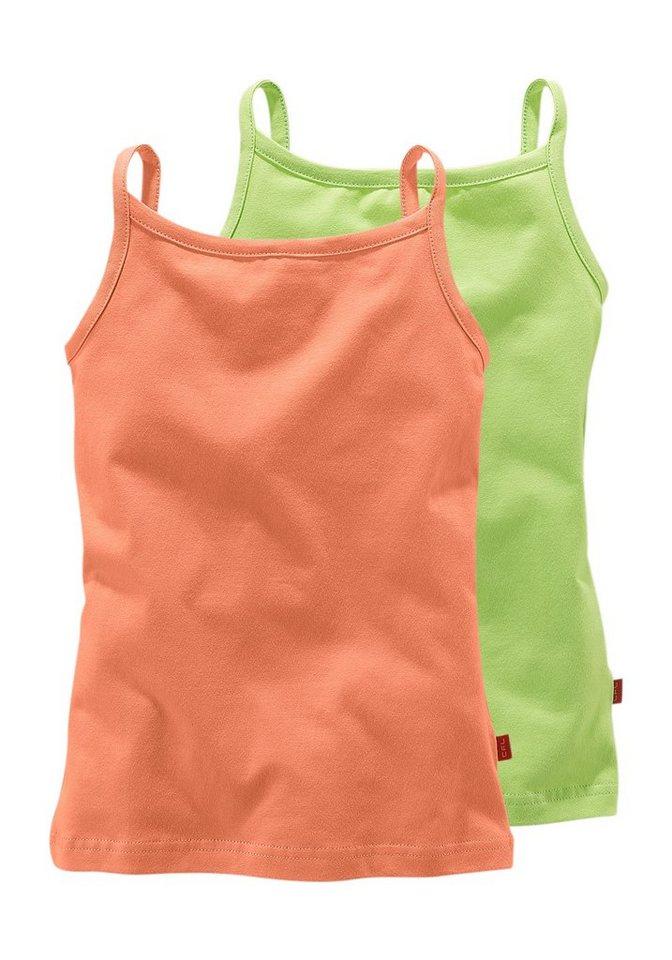 CFL Top für Mädchen (Packung, 2 Stück) in Orange-Grün