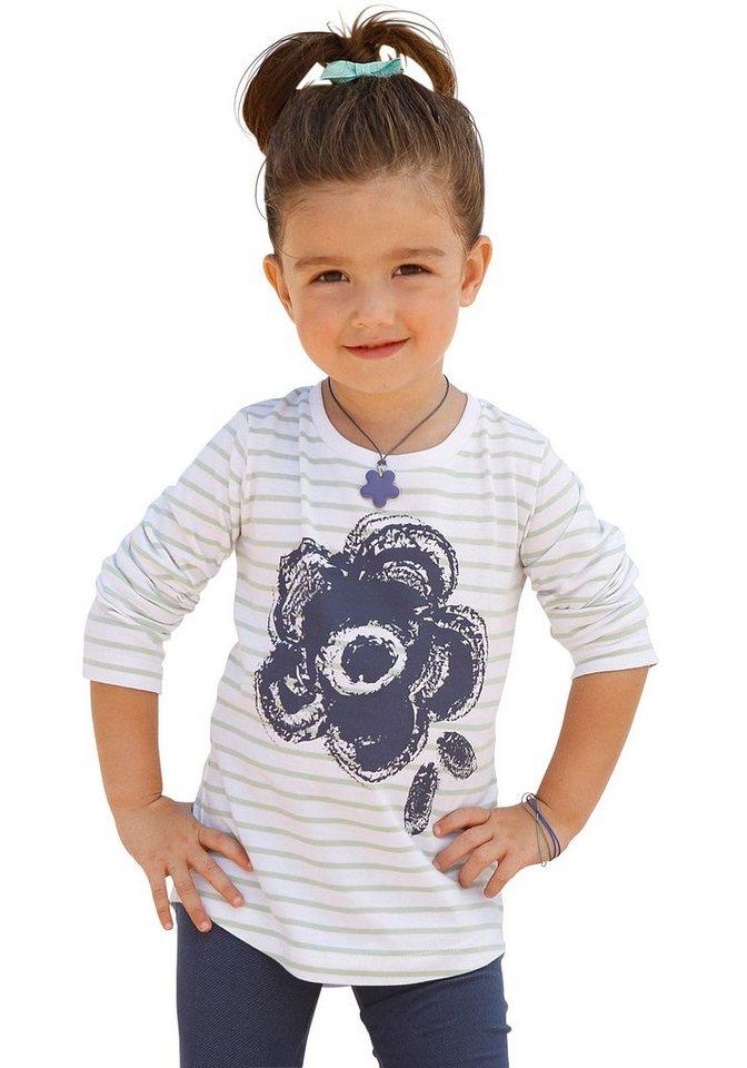 CFL Langarmshirt für Mädchen in gestreift
