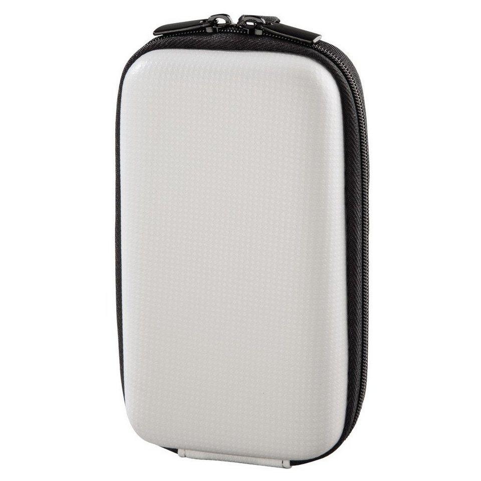 Hama Kameratasche Hardcase Galaxie, 90 H, Weiß in Weiß