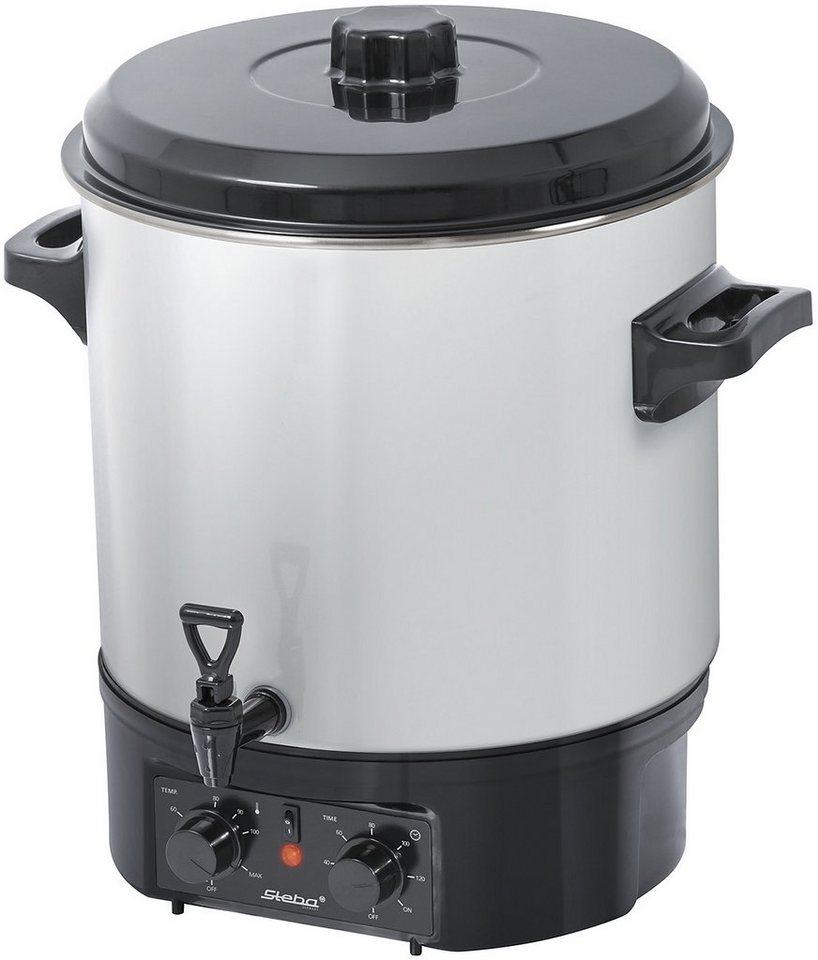 Steba Einkoch- und Glühweinautomat ER 1, 27 Liter Füllmenge in weiß