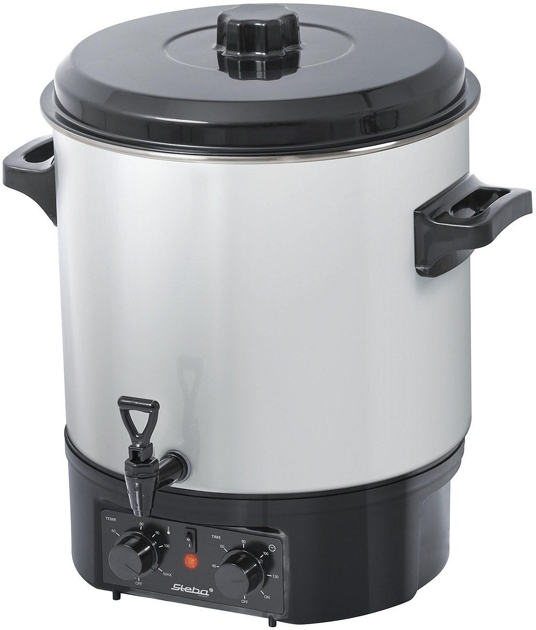Steba Einkoch- und Glühweinautomat ER 1, 27 Liter Füllmenge