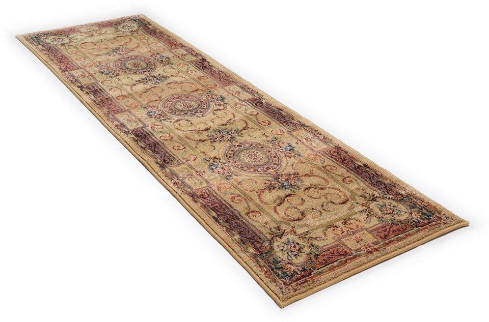 Läufer, Oriental Weavers, »Gabiro 856«, Melange-Effekt, gewebt in beige