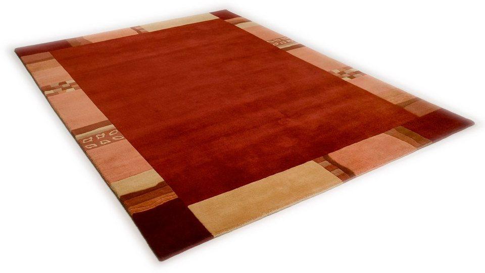 Teppich »Avanti«, Theko, rechteckig, Höhe 12 mm in rot