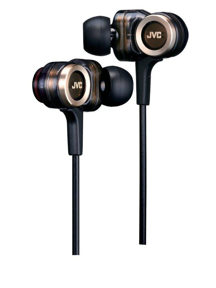 JVC In Ear Kopfhörer »HA-FXZ200-E schwarz/braun«
