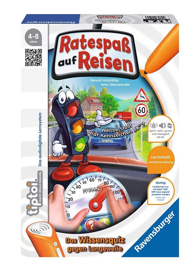 Ravensburger Spiel, tiptoi®, »Ratespaß auf Reisen«