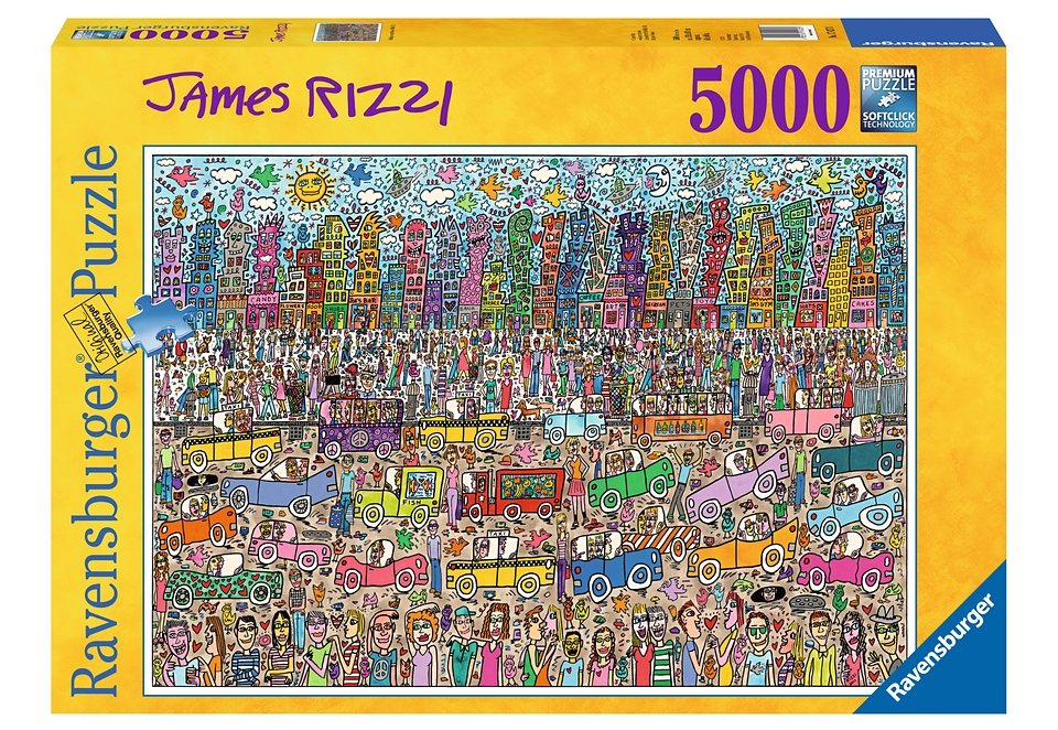 ravensburger puzzle 5000 teile nothing is as pretty as a. Black Bedroom Furniture Sets. Home Design Ideas
