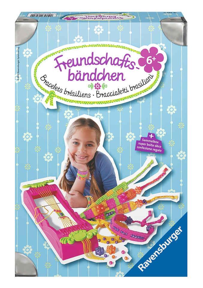 Ravensburger Kreativset »Freundschaftsbändchen«, (Set), Made in Europe; FSC® - schützt Wald - weltweit