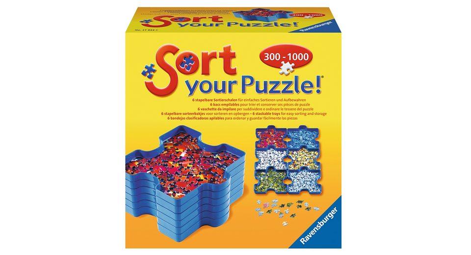 Ravensburger 6 Sortierschalen, »Sort your Puzzle«