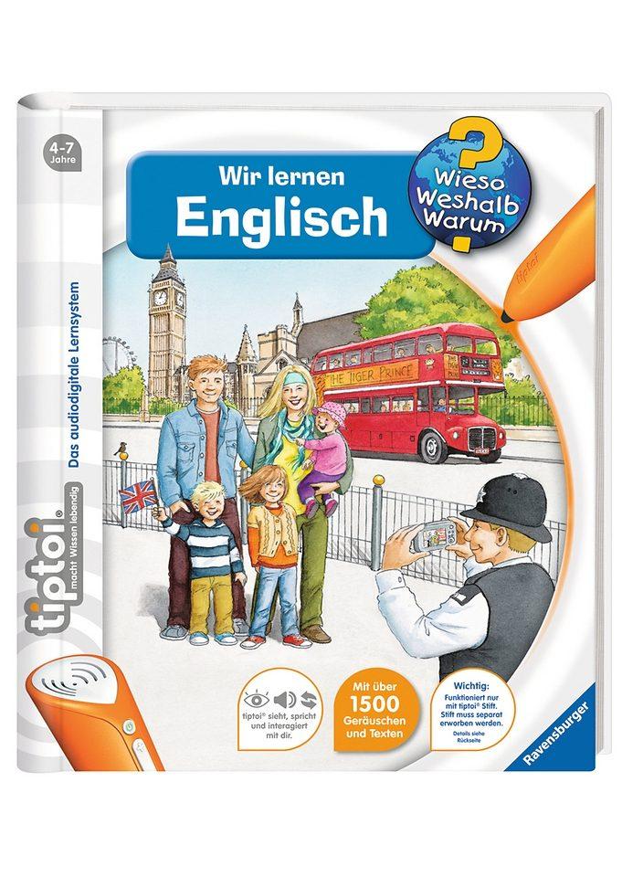 Ravensburger Buch, tiptoi®, »WWW - Wir lernen Englisch«
