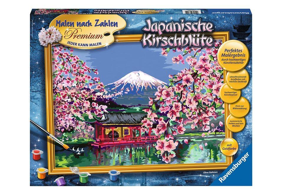 Ravensburger Malen nach Zahlen, »Japanische Kirschblüte«