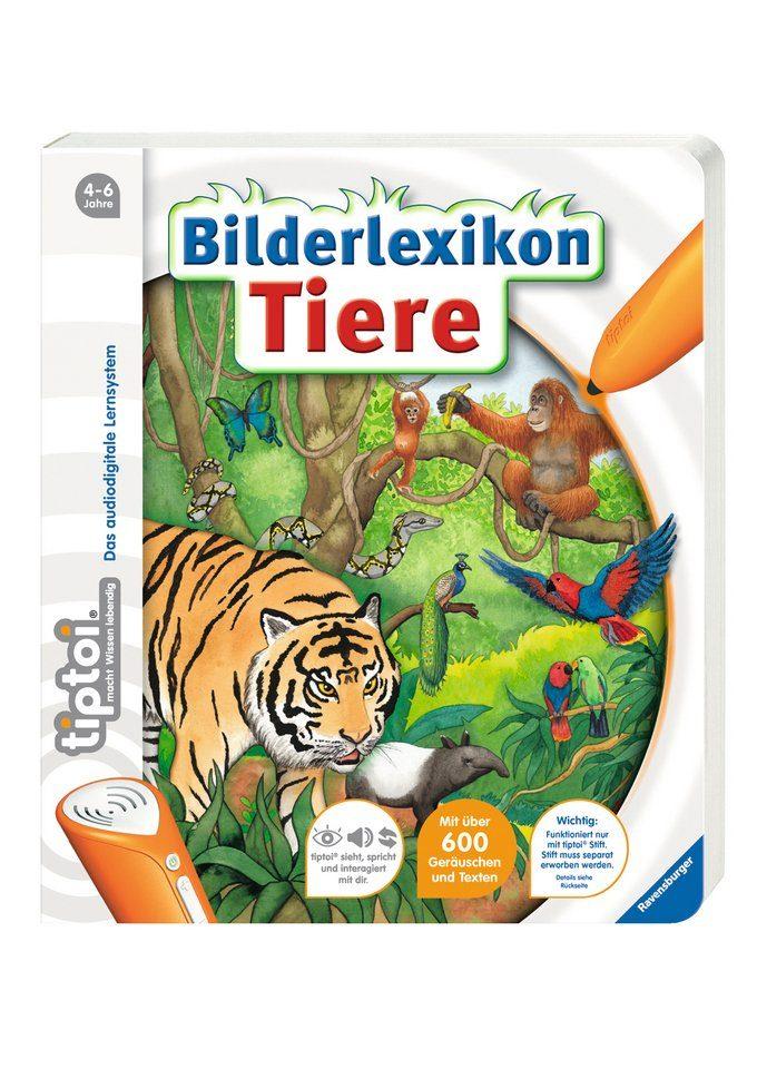 Ravensburger Buch, tiptoi®, »Bildlexikon Tiere«