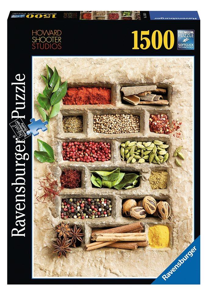 Ravensburger Puzzle 1500 Teile, »Gewürze in Stein«