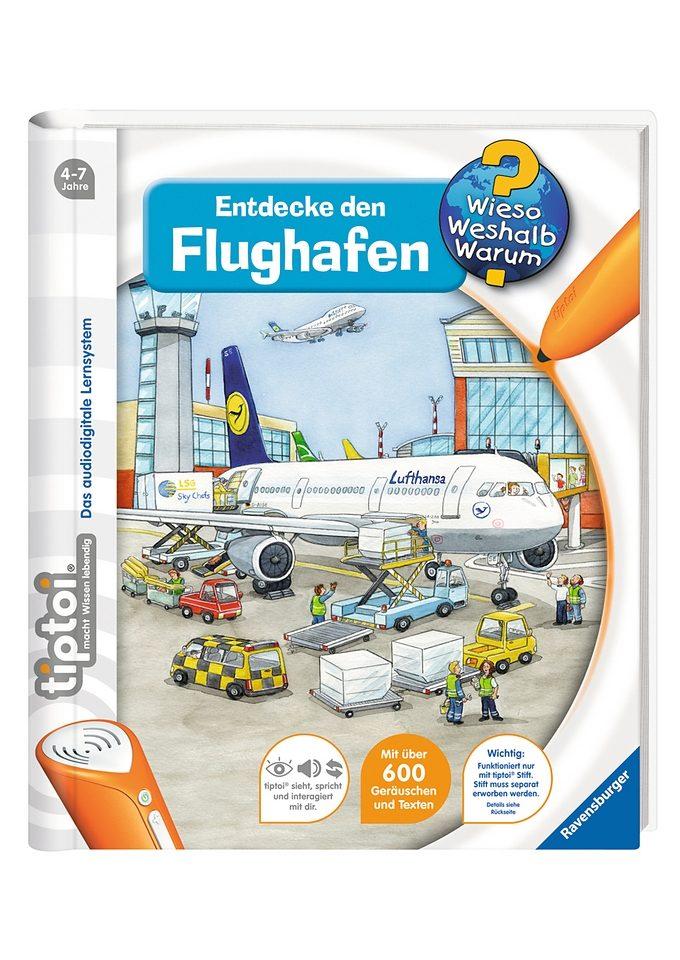 Ravensburger Buch, tiptoi®, »WWW - Entdecke den Flughafen«