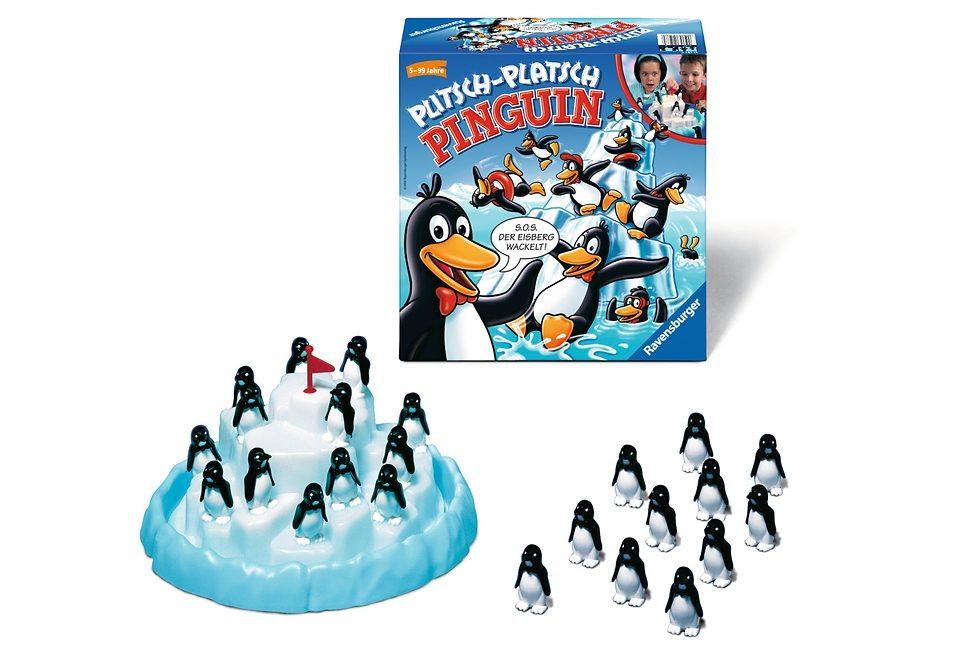 Ravensburger Familienspiel, »Plitsch-Platsch Pinguin«