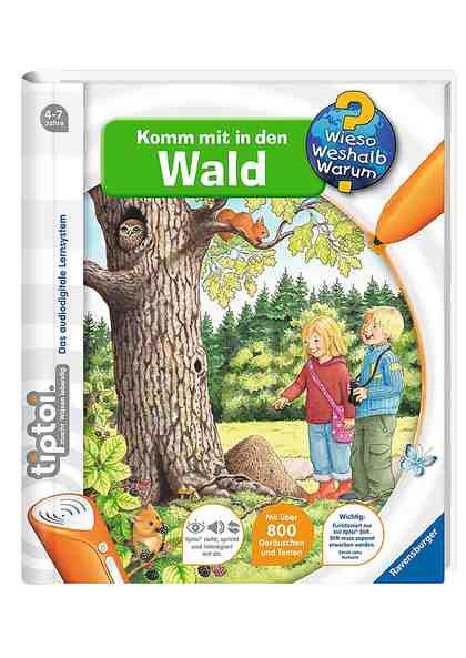 Ravensburger Buch, tiptoi®, »WWW - Komm mit in den Wald«