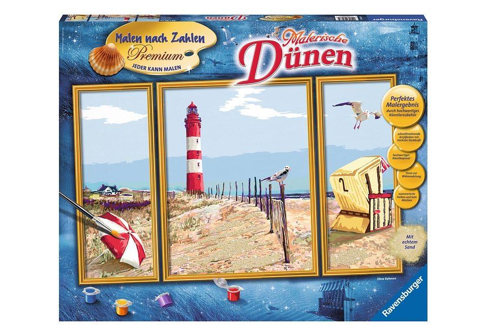Ravensburger Malen nach Zahlen, »Malerische Dünen«