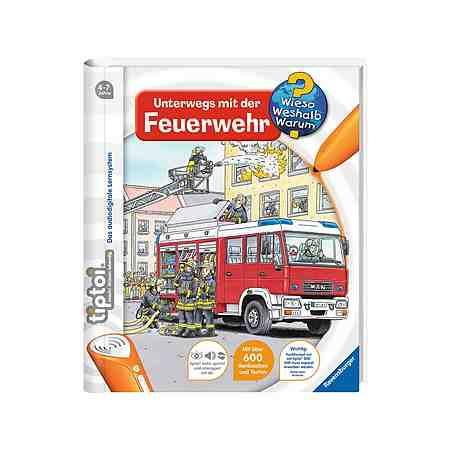 Ravensburger Buch, tiptoi®, »WWW - Unterwegs mit der Feuerwehr«
